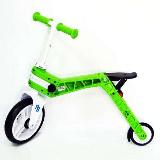 Беговел-самокат Real Baby, зеленый 1
