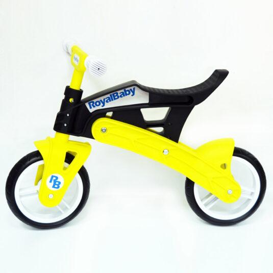 Беговел Real Baby, черно-желтый 1