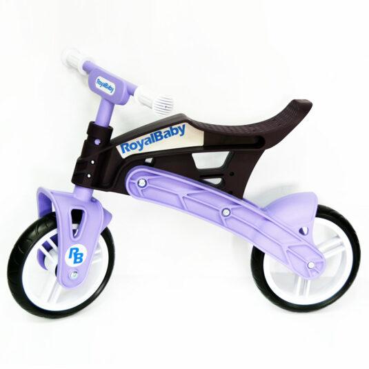 Беговел Real Baby, коричнево-фиолетовый 1